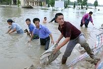 21 Muertos y 4 desaparecidos por las inundaciones en el noroeste de China