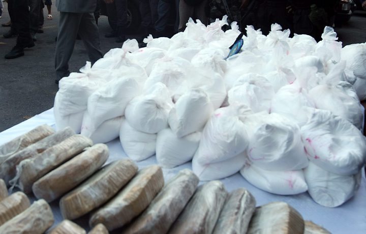 Policía peruana incauta 79 kilos de cocaína
