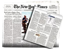 The New York Times publica anuncio a toda página en favor de la marihuana
