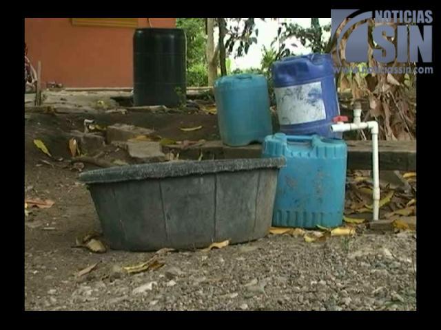 La Vega sufre escasez de agua potable