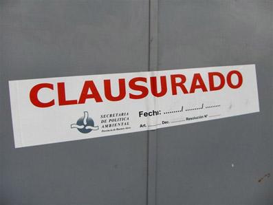 Salud Pública clausura áreas de cirugía de dos clínicas
