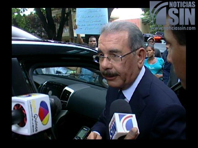 Danilo Medina dice visitas sorpresa es el motor del resurgir del campo que vive hoy la RD