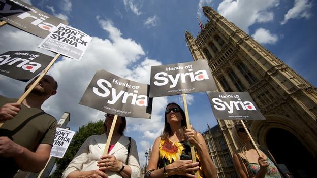 Cinco provincias de Siria se quedan sin suministro de electricidad