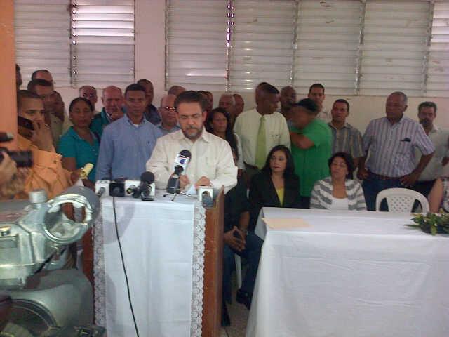 Guillermo Moreno concluye ayuno con