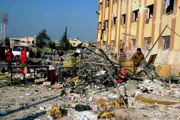 Más de 300 muertos en la última semana en Alepo por bombardeos del régimen