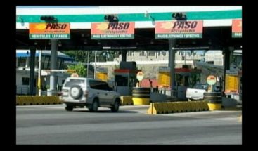 El aumento precios de los peajes va, dice administrador Banreservas