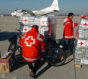 La Cruz Roja planea asistir a unos 5,4 millones de sirios hasta final de 2014