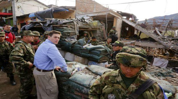La CIA ayudó al Ejército colombiano a matar a dirigentes de las FARC