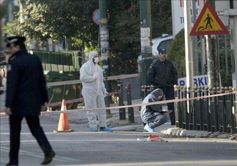 Disparos sin víctimas contra la residencia del embajador alemán en Atenas