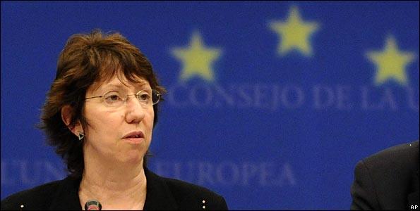Filtran conversación de Ashton que siembra dudas sobre francotiradores Kiev