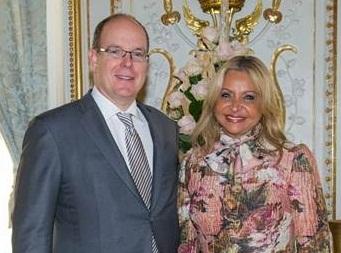 Presenta credenciales al Príncipe de Mónaco
