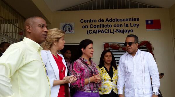 Vicepresidenta de la República visita Najayo Menores