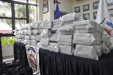 DNCD decomisa 250 paquetes procedente de Perú; podría ser cocaína o heroína
