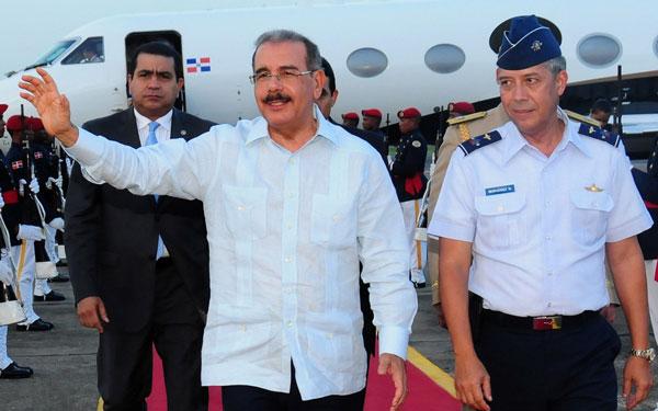 Presidente Medina viajará este viernes a cumbre del SICA en Panamá