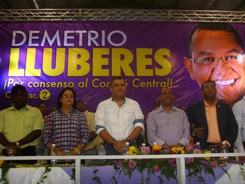 En San Cristóbal presentan cinco candidatos al Comité Central del PLD