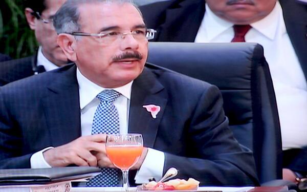 Presidente Medina dice problemas con Haití se deben solucionar dialogando