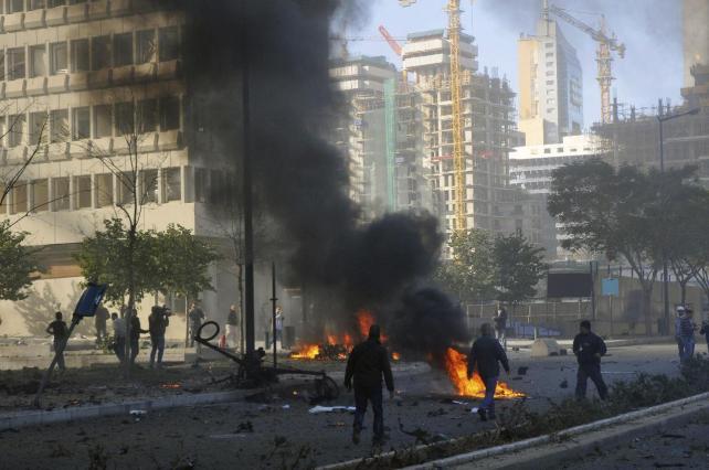 Israel bombardea área del sur del Líbano después lanzamiento de cohete