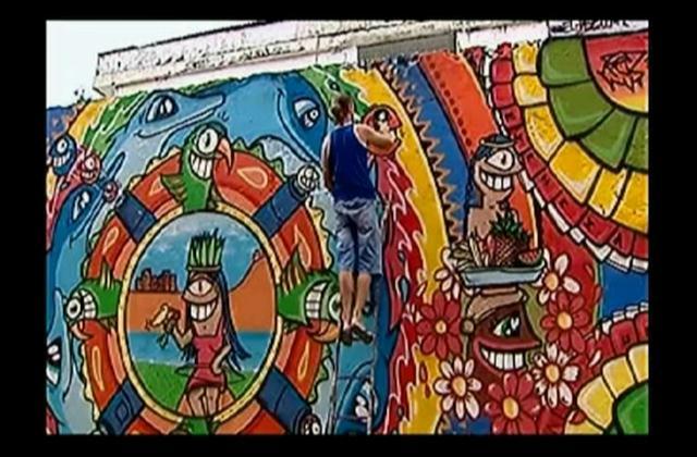 Grafiteros convierten en verdaderas obras de arte las calles de Colombia