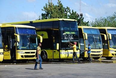 OTTT inspeccionará gomas de vehículos de pasajeros
