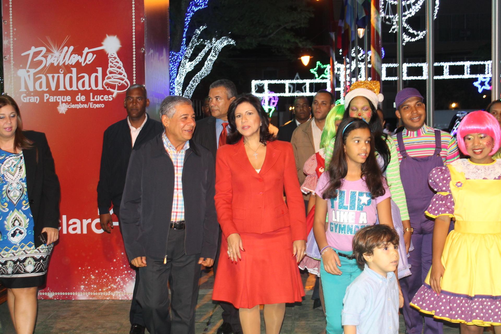 Vicepresidenta de la República visita Brillante Navidad
