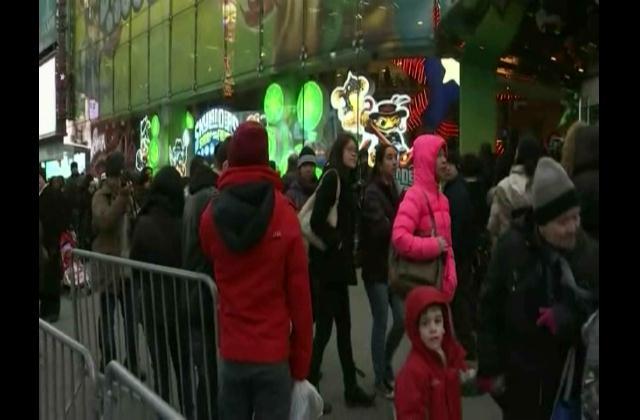¡Cuenta Regresiva! Neoyorquinos se preparan para recibir el 2014