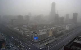 La contaminación en China obliga a cancelar vuelos y cerrar autopistas