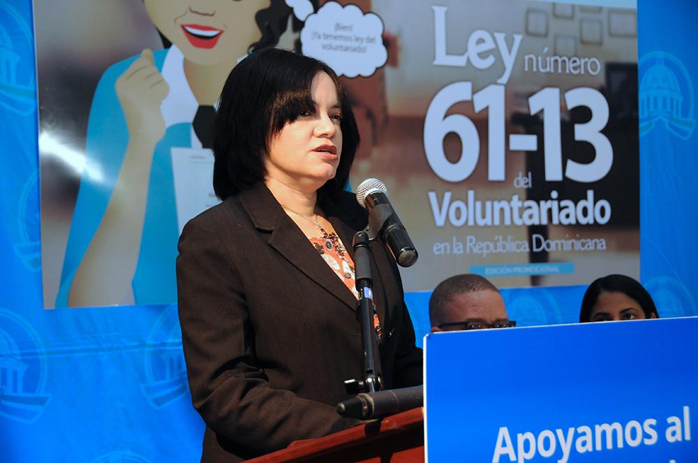 Lanzan edición promocional de ley 61-13 sobre voluntariado