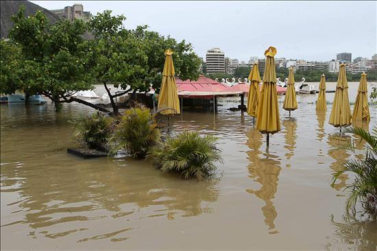 Sube a 45 el número de muertos por las lluvias en el sureste de Brasil