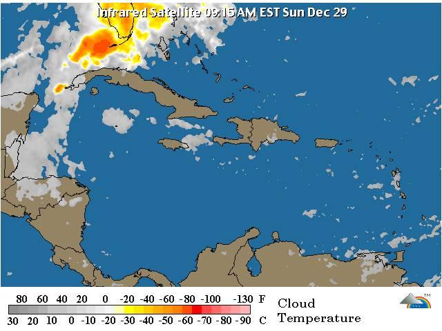 Meteorología prevé pocas lluvias para las próximas 24 a 48 horas