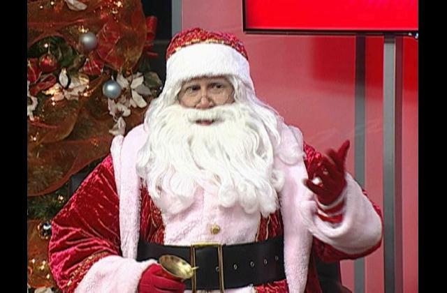 Santa Claus, SIN se viste de gala con la llegada de este personaje