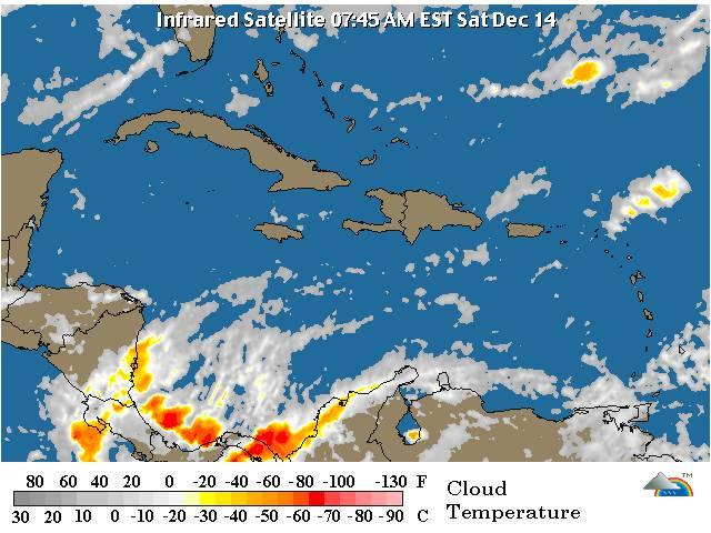 Poca incidencia en la actividad de lluvia, según Onamet