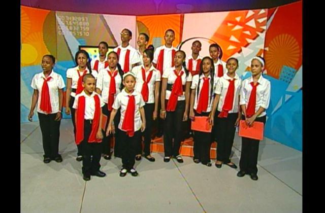 Villancico interpretado por el Coro Ministerio Niños de Jesús