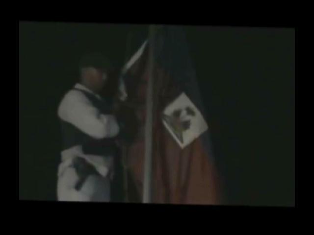 Buscan responsables de quemar bandera dominicana y colocar en su lugar una haitiana
