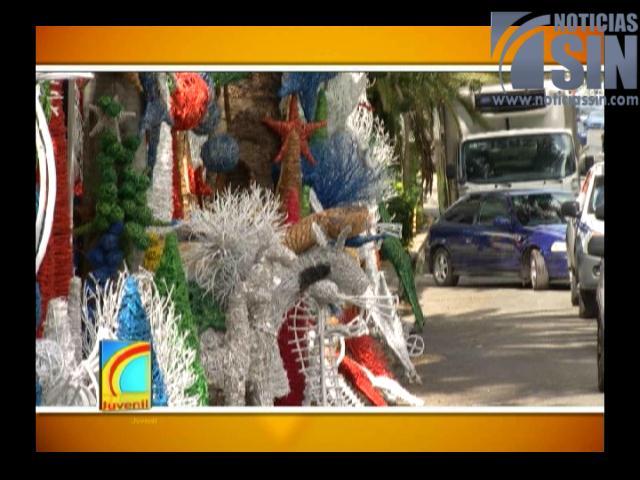 Charamicos complementan la Navidad dominicana