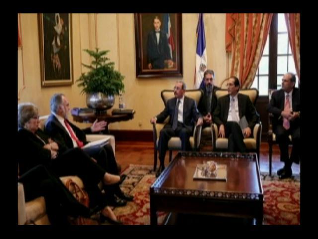 Danilo Medina se reúne con la CIDH a puertas cerradas