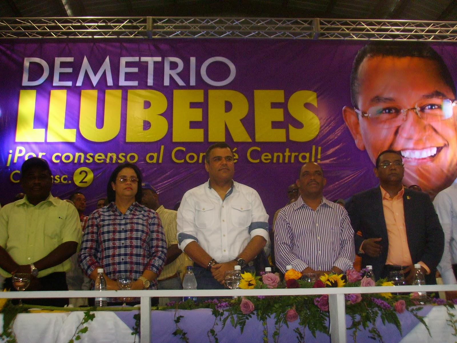San Cristóbal presenta sus cinco candidatos al Comité Central del PLD