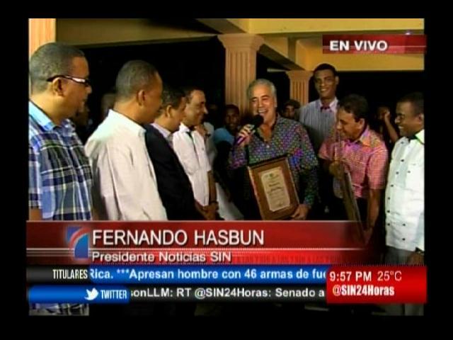 Haina reconoce a Alicia Ortega, Fernando Hasbún y Cruz Jiminián
