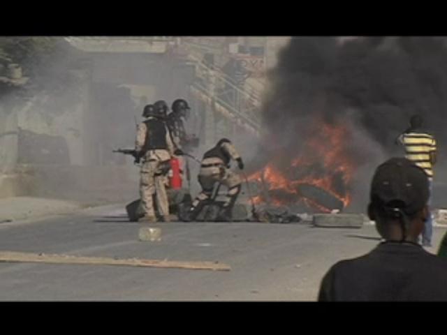 Protestas en Haití motivadas por rechazo a RD, choferes bajo amenaza