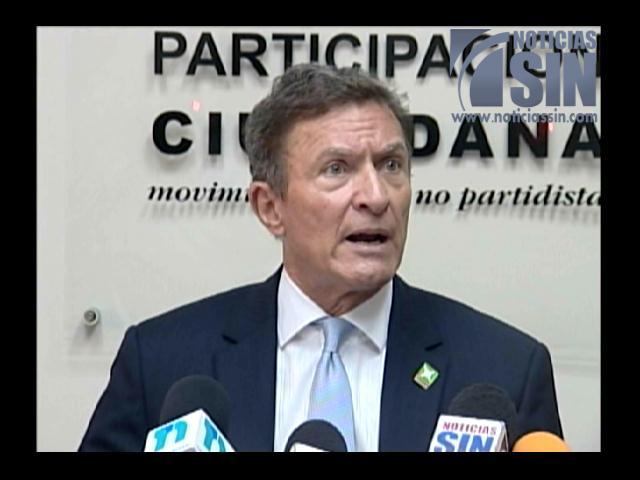 Partidos políticos sufren una crisis, según Participación Ciudadana