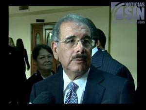 Presidente Medina envía carta de condolencias a esposa de J. Armando Bermúdez