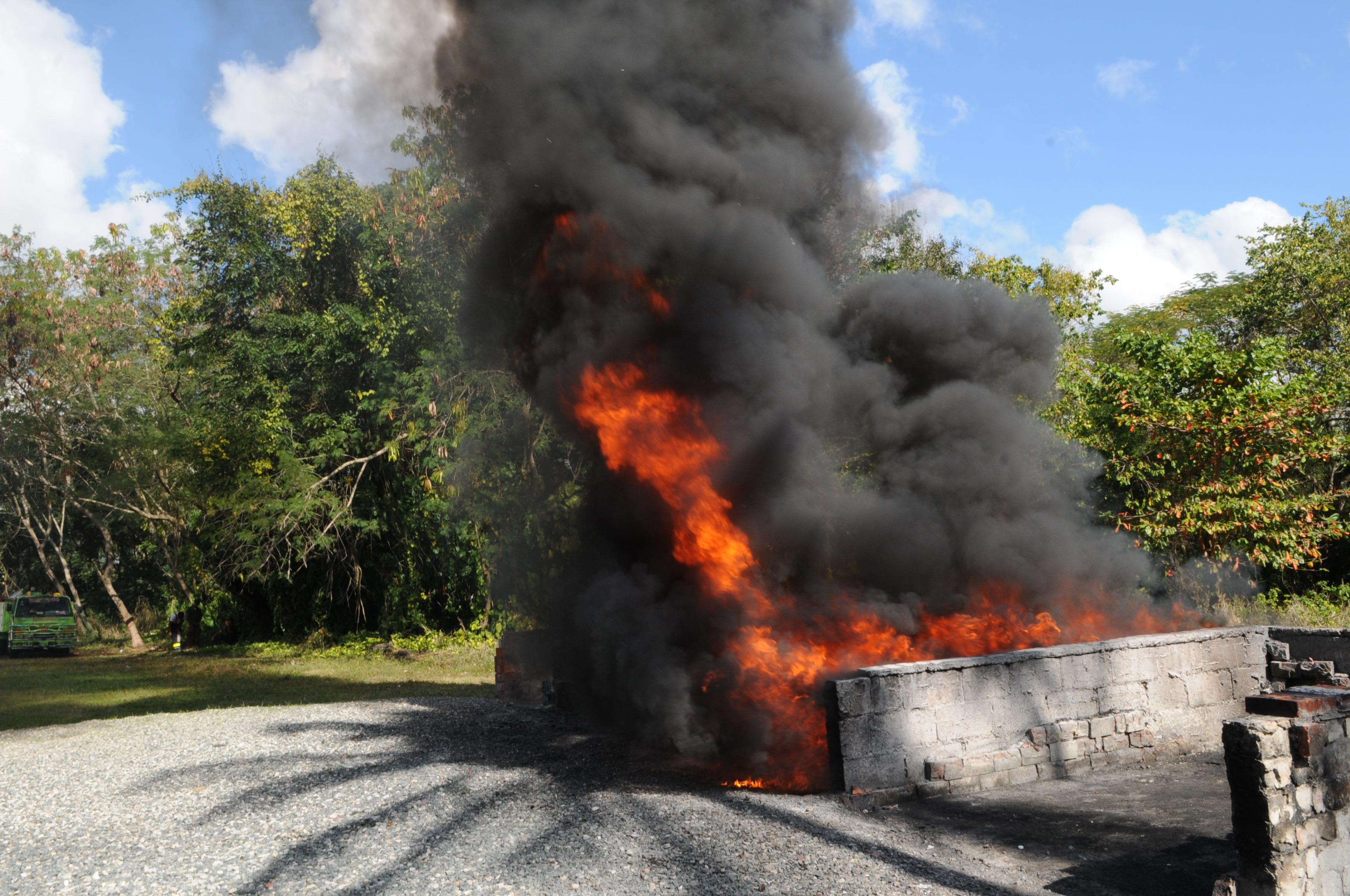 PGR incinera 49 kilogramos de drogas decomisadas en distintas operaciones