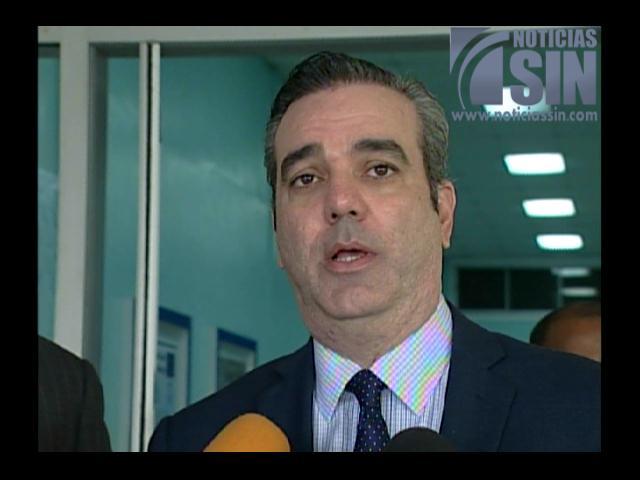 Luis Abinader: Proyecto reeleccionista está empeorando los problemas del país