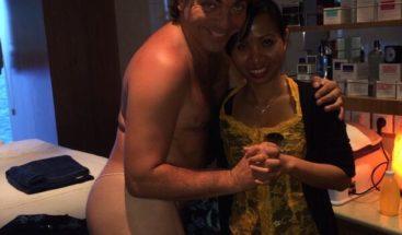 Cristian Castro publica foto semidesnudo