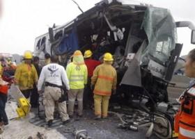 Cinco muerto y ocho heridos en accidente de carretera en Colombia