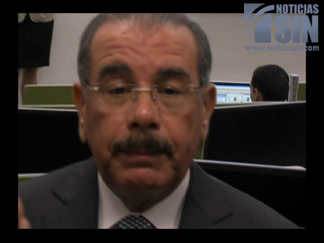 Presidente Medina solicita devolución de Proyecto de Código de Familia