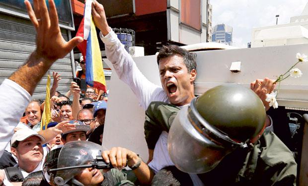 Líder opositor preso advierte a Maduro que lucha