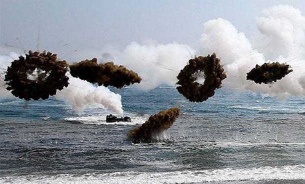 Crece la tensión entre las dos Coreas tras un intercambio de fuego en el mar