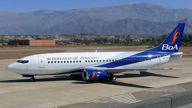 Aerolínea boliviana comprará cuatro aviones chinos en US$80 MM