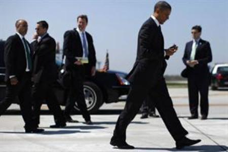 Suspenden a tres agentes secretos de Obama por salir de copas en Amsterdam