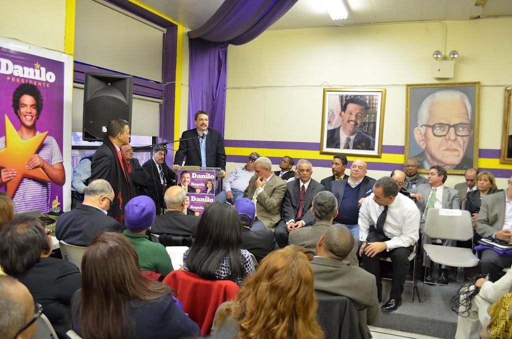 PLD en NY respalda accionar de Medina en cuanto a migración